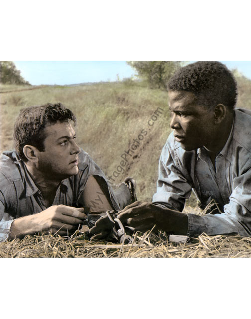 Tony Curtis & Sidney Poitier, The Defiant Ones 1958