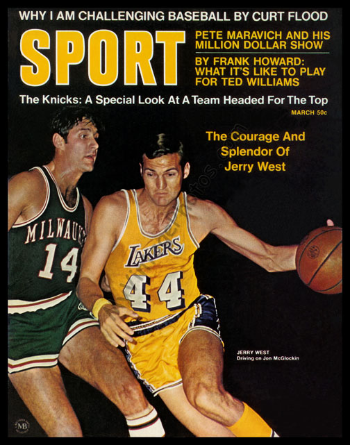 Jerry West, March 1970