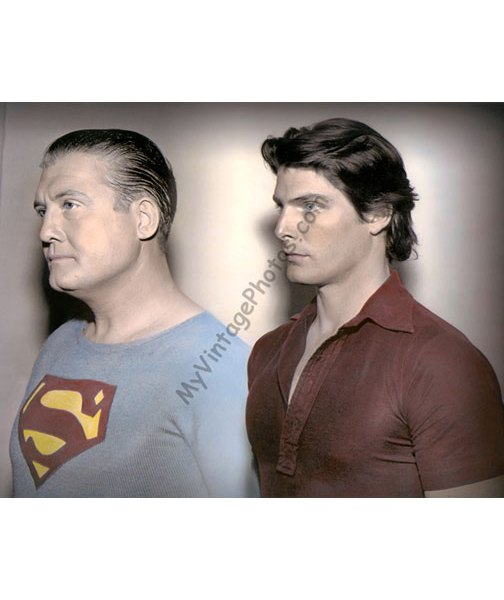 George Reeves & Christopher Reeve, Superman