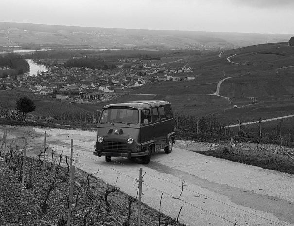 Balades insolites en Champagne My Vintage Tour Company Estafette circuit Reims Epernay