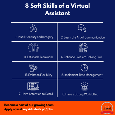 8 Soft Skills to Become an Effective Virtual Assistant