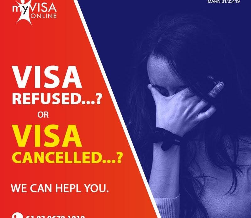 Visa Refused   Visa Cancelled