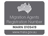 migration agents registration number-mrn 0105419