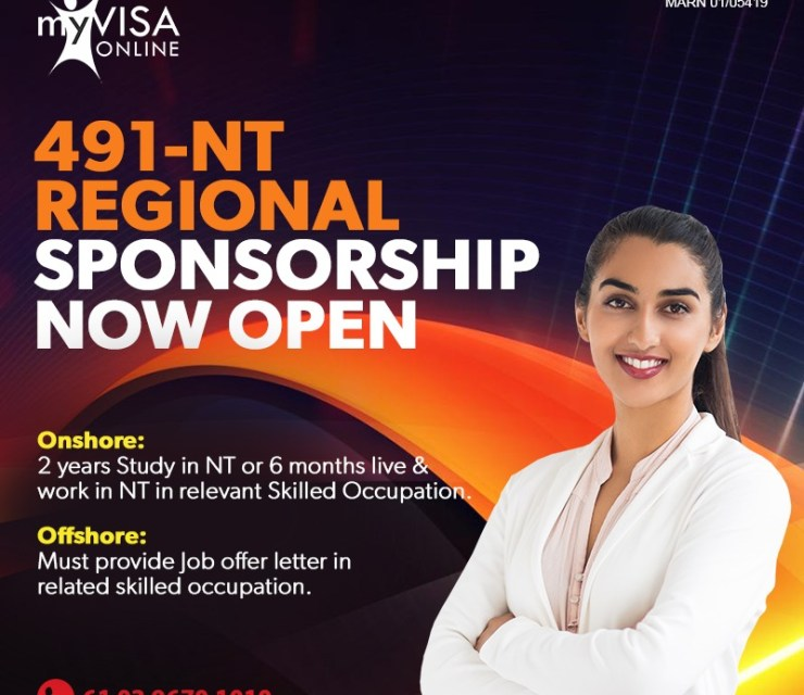 NT Skilled Regional Provisional Visa 491