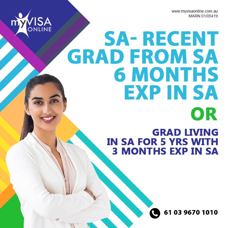SA Skilled Regional Provisional Visa 491
