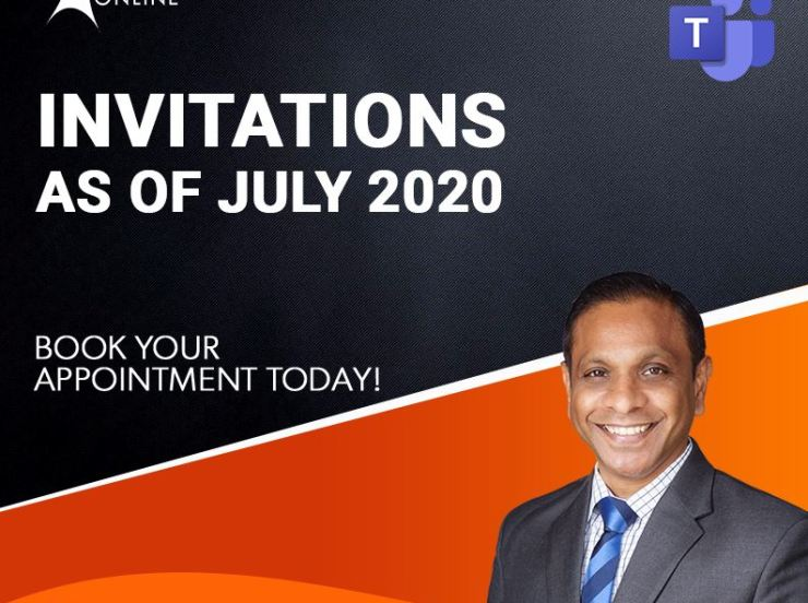 Invitations  As of Jul 2020