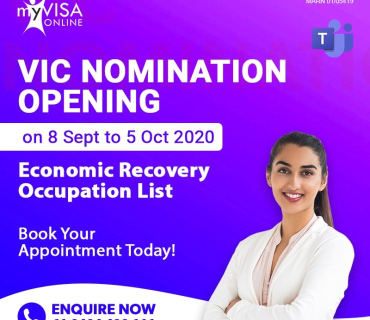 2020-21 Victorian Skilled Visa Nomination