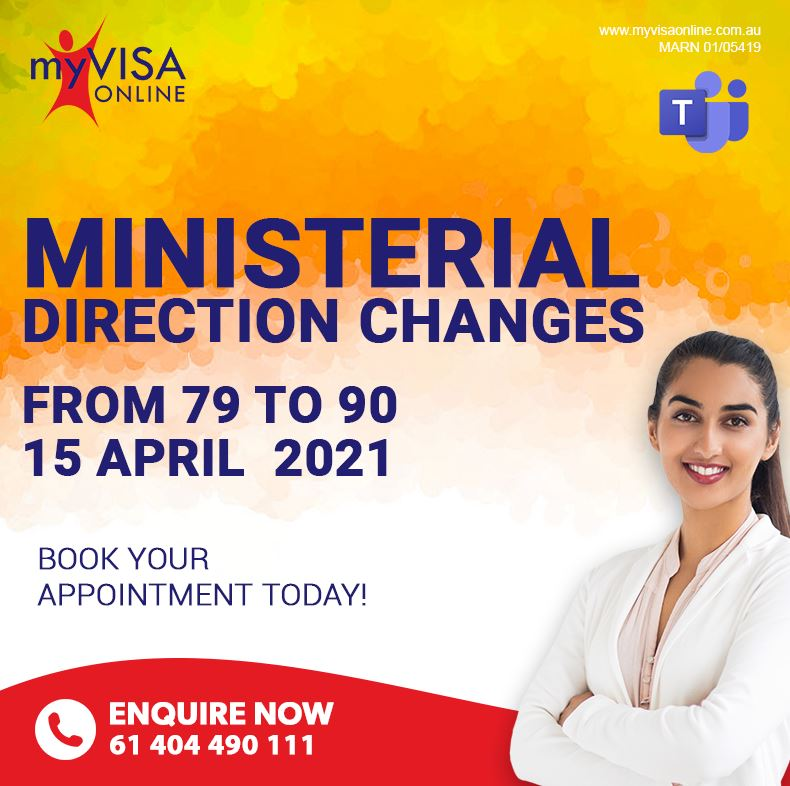 Ministerial Direction Changes from 79 to 90