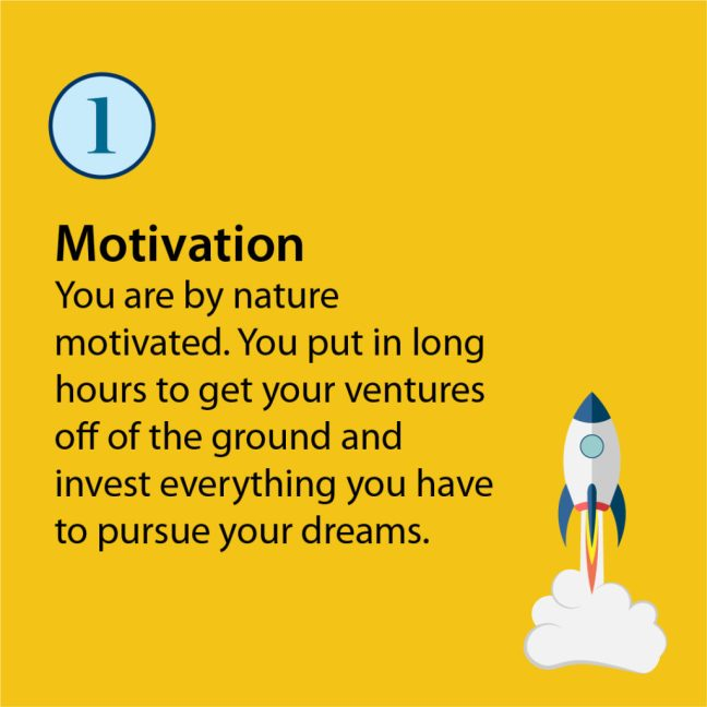 entrepreneur characteristic motivation