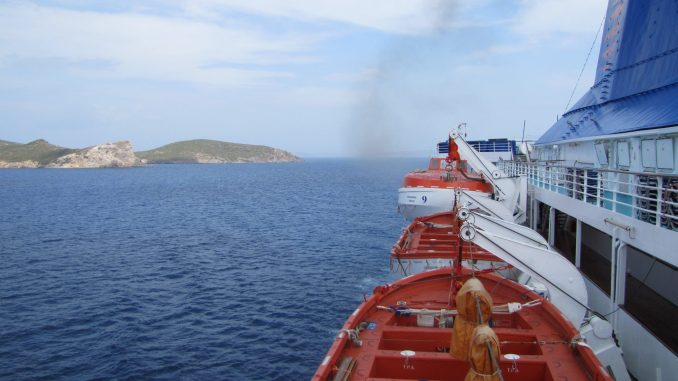 Cruising to Patmos