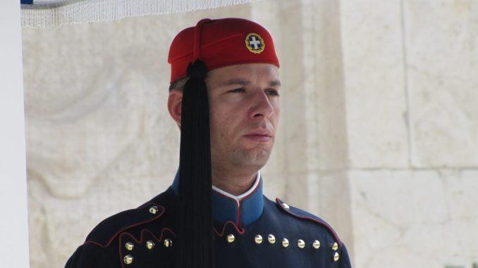 Greek Parliament guard