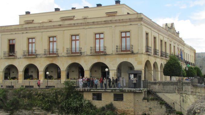 Building in Rhonda Spain