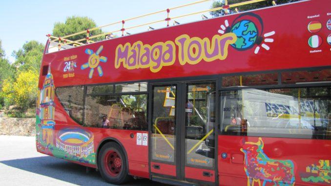 Malaga tour bus