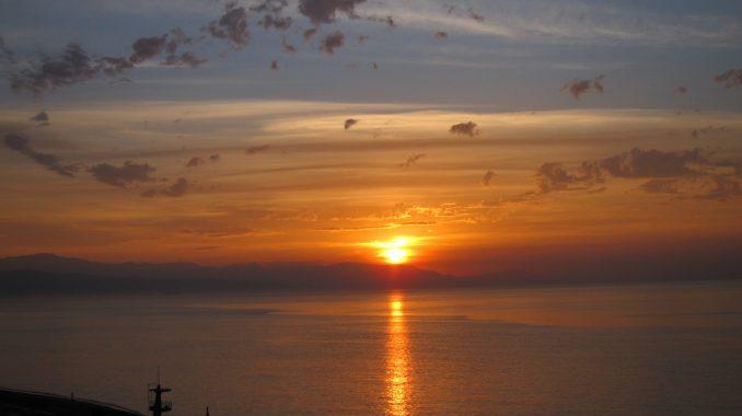 Sunrise in Malaga