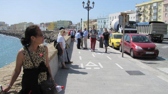 The boardwalk at Cadiz Spain