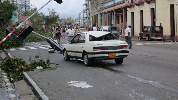 Damaged car photo