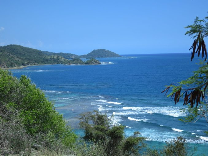Ocean view near Chiivirico Cuba