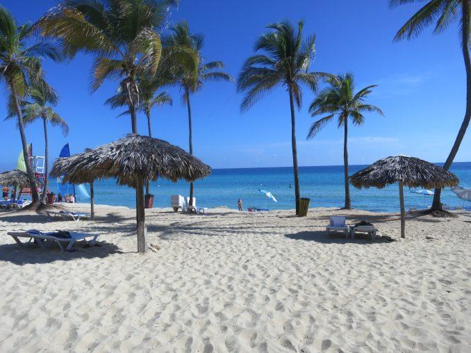 The beach at the Atlantico Hotel - Havana East