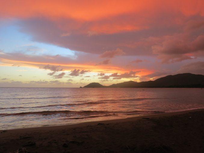 Amazing sunset at Sierra Mar Cuba