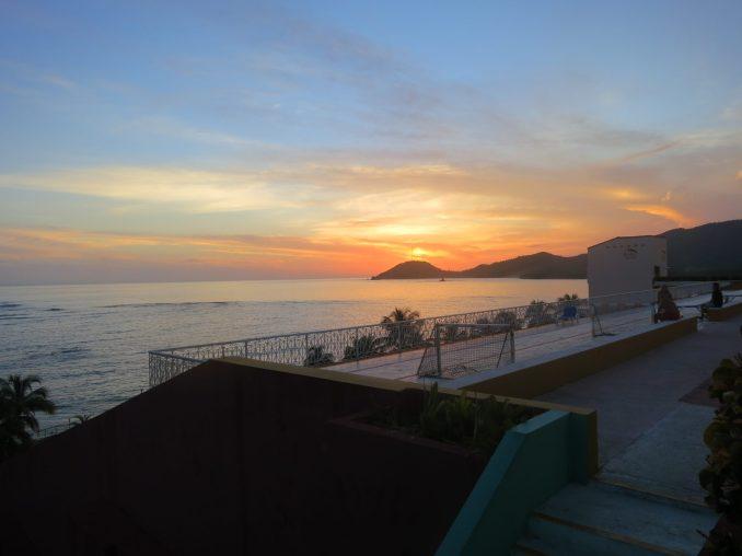 Another amazing sunset at Sierra Mar near Santiago Cuba