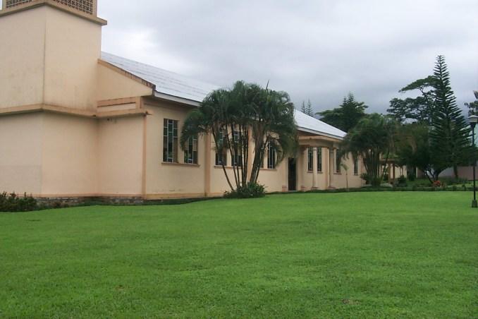 The church in Fortuna Costa Rica