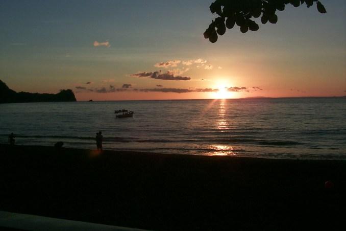 Sunset at Manuel Antonio Park