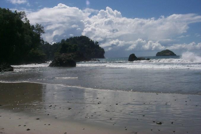 The beach at Manuel Antonio