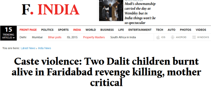 Caste_violence_Two_Dalit_children_burnt_alive_in_Faridabad_revenge_killing,_mother_critical_-_Firstpost_-_2015-11-24_16.03.04