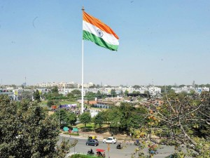 Let the Indian flag fly with pride and remind us of our roots. How lucky we are to be India.