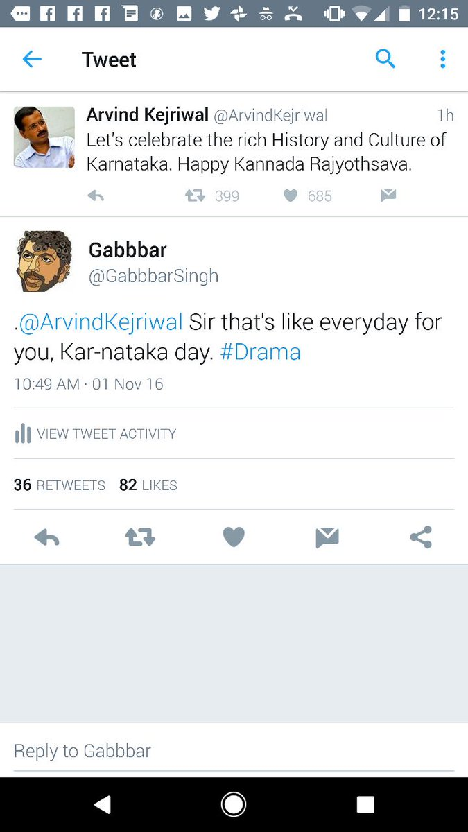 @gabbarsingh's reply to @arvindkejriwal