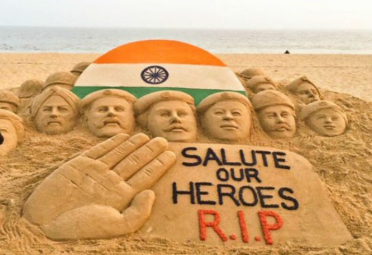 RIP Indian Soldiers