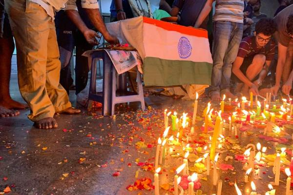 IIT Madras Students Candle March