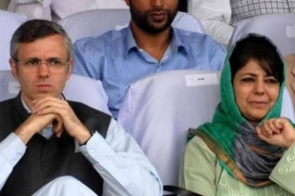 Omar Abdullah and Mehbooba Mufti in house arrest