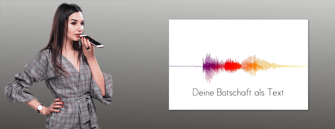 Create your own voiceprint