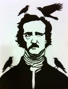 Edgar Allan Poe by Valerie Rangel