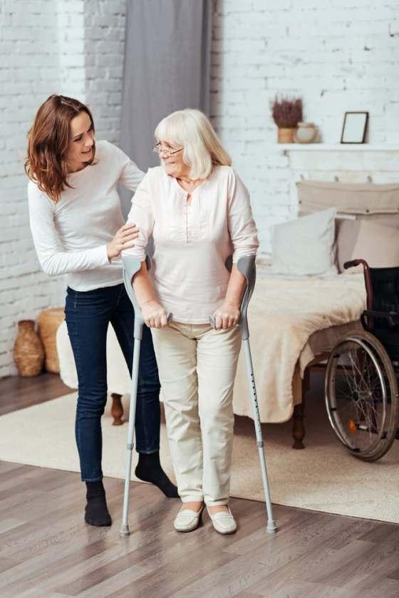 you need a knee crutch