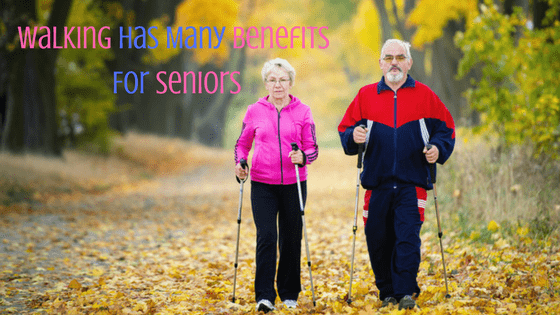 Benefits of walking for seniors