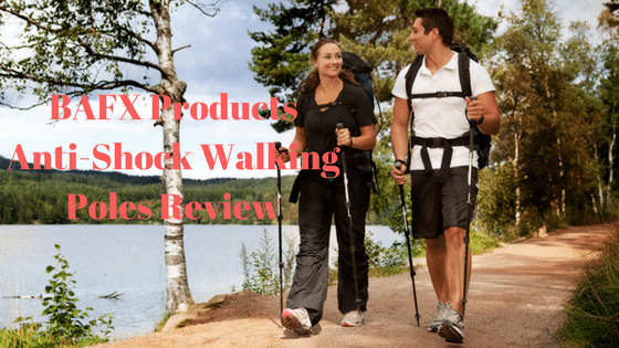 BAFX Products Anti-Shock Walking Poles Review
