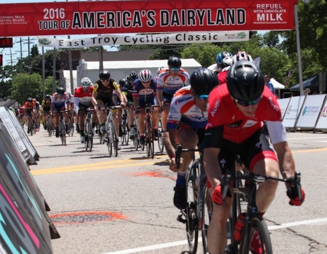 The menu0027s ision races in last years East Troy Cycling Classic. The annual event is part of the Tour of Americau0027s Dairyland and returns to East Troy ... & MyWalworthCounty.com u2013 On with the race