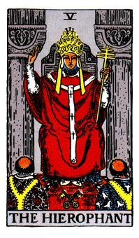 The Hierophant Tarot Card Meaning