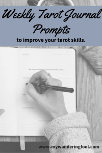 tarot journal prompts