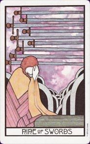 Nine of Swords - loss, despair, disappointment