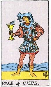 Page of Cups Rider Waite MyWanderingFool Tarot