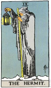 The Hermit Tarot Card Meaning