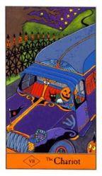Halloween Tarot Deck The Chariot