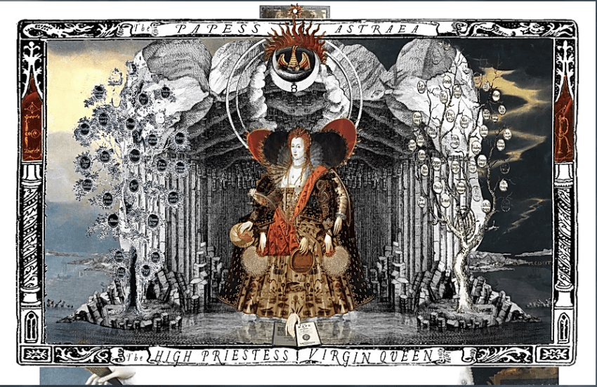The High Priestess Shakespeare Tarot