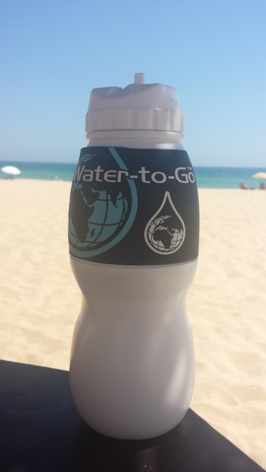 Onmisbaar op reis - waterfilter water to go