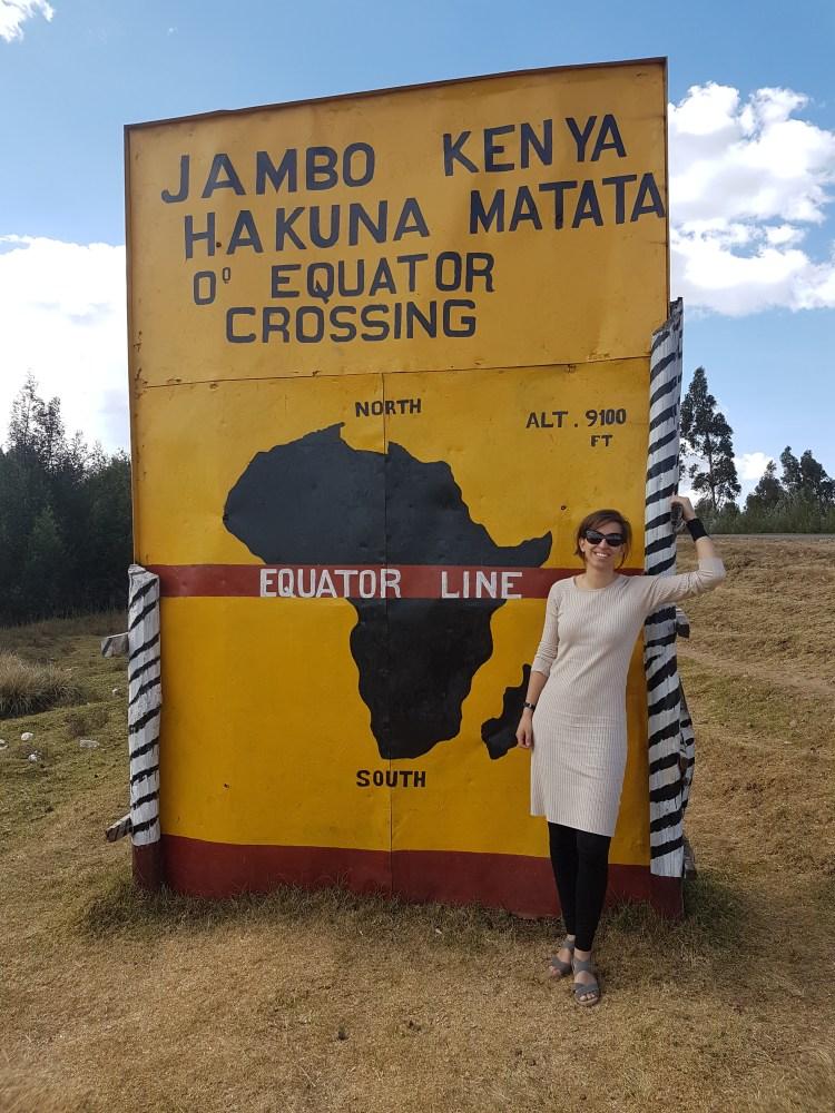 Op de evenaar Kenia