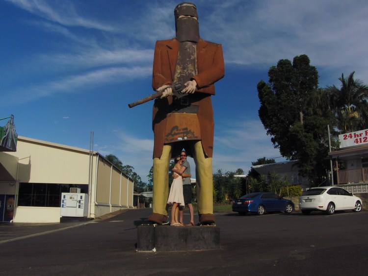 The Big Ned Kelly, Maryborough, Queensland