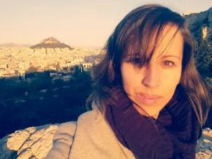 Bij de Acropolis Griekenland Athene